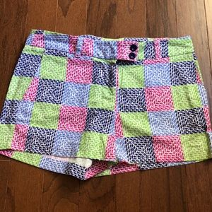 Vineyard Vines Whale Patchwork Dayboat Shorts